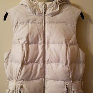 Eddie Bauer Premium Goose Down Vest Hood